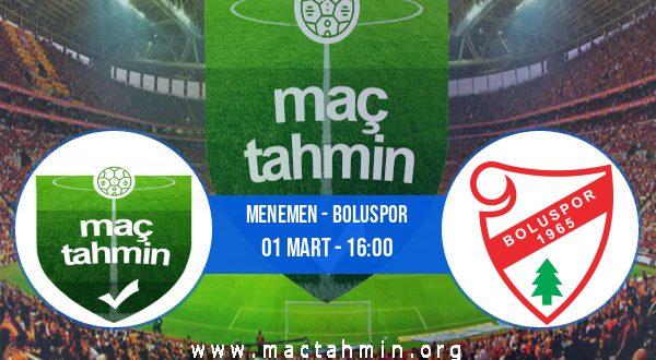 Menemen - Boluspor İddaa Analizi ve Tahmini 01 Mart 2021