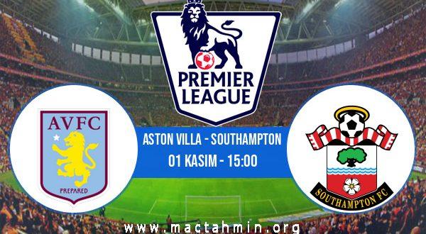 Aston Villa - Southampton İddaa Analizi ve Tahmini 01 Kasım 2020