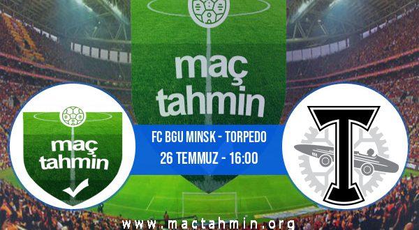 FC Bgu Minsk - Torpedo İddaa Analizi ve Tahmini 26 Temmuz 2020