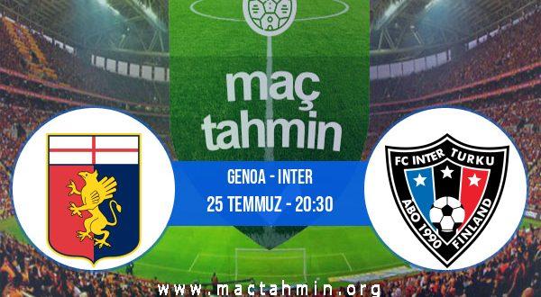 Genoa - Inter İddaa Analizi ve Tahmini 25 Temmuz 2020