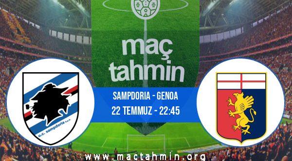 Sampdoria - Genoa İddaa Analizi ve Tahmini 22 Temmuz 2020