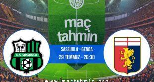 Sassuolo - Genoa İddaa Analizi ve Tahmini 29 Temmuz 2020
