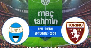 SPAL - Torino İddaa Analizi ve Tahmini 26 Temmuz 2020