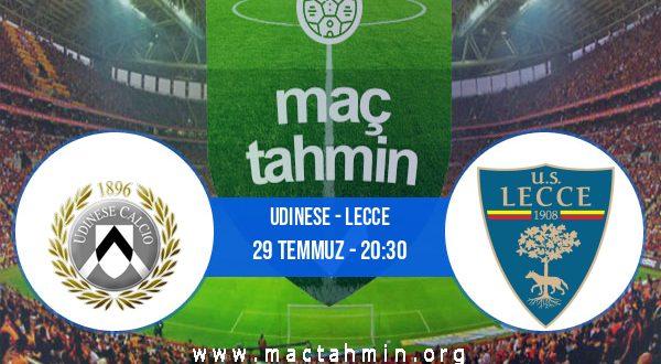 Udinese - Lecce İddaa Analizi ve Tahmini 29 Temmuz 2020