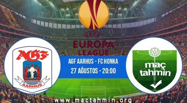 AGF Aarhus - FC Honka İddaa Analizi ve Tahmini 27 Ağustos 2020