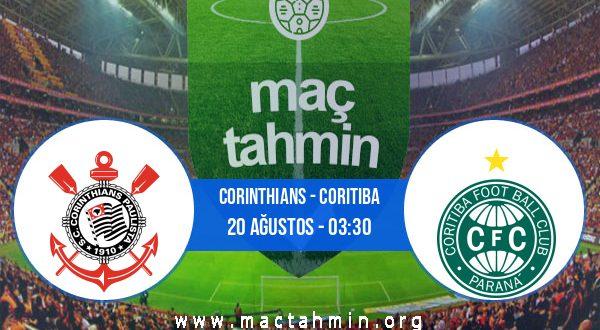Corinthians - Coritiba İddaa Analizi ve Tahmini 20 Ağustos 2020