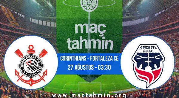 Corinthians - Fortaleza CE İddaa Analizi ve Tahmini 27 Ağustos 2020