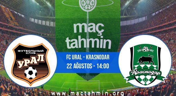 FC Ural - Krasnodar İddaa Analizi ve Tahmini 22 Ağustos 2020