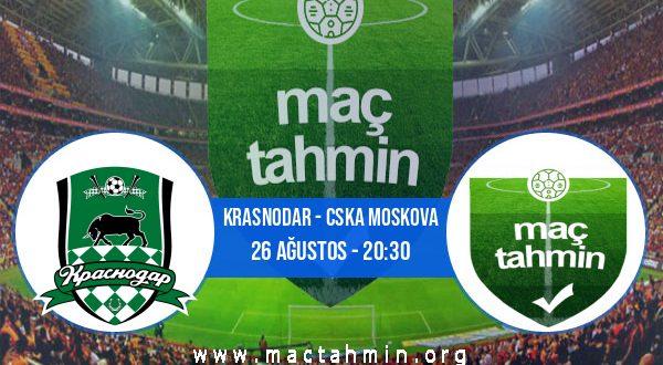 Krasnodar - CSKA Moskova İddaa Analizi ve Tahmini 26 Ağustos 2020
