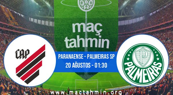 Paranaense - Palmeiras SP İddaa Analizi ve Tahmini 20 Ağustos 2020