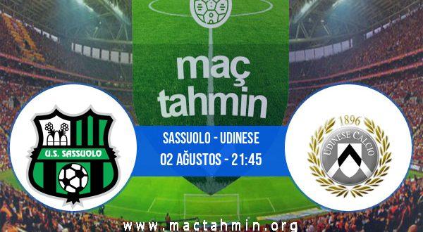 Sassuolo - Udinese İddaa Analizi ve Tahmini 02 Ağustos 2020