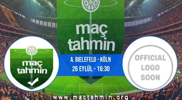 A. Bielefeld - Köln İddaa Analizi ve Tahmini 26 Eylül 2020