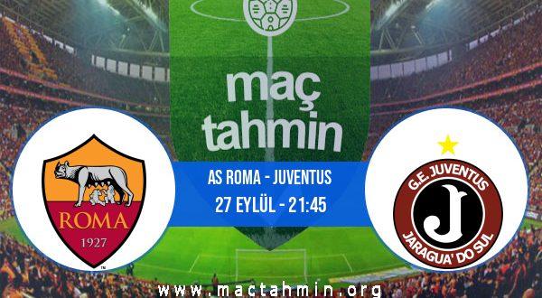 AS Roma - Juventus İddaa Analizi ve Tahmini 27 Eylül 2020