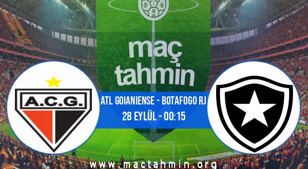 Atl Goianiense - Botafogo RJ İddaa Analizi ve Tahmini 28 Eylül 2020
