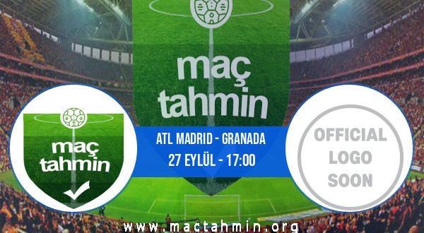 Atl Madrid - Granada İddaa Analizi ve Tahmini 27 Eylül 2020