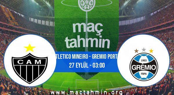 Atletico Mineiro - Gremio Porto İddaa Analizi ve Tahmini 27 Eylül 2020