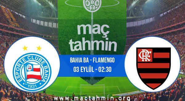 Bahia BA - Flamengo İddaa Analizi ve Tahmini 03 Eylül 2020