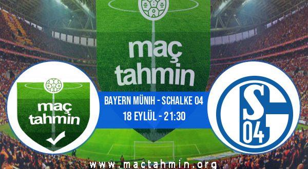 Bayern Münih - Schalke 04 İddaa Analizi ve Tahmini 18 Eylül 2020