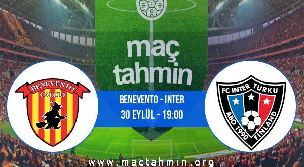 Benevento - Inter İddaa Analizi ve Tahmini 30 Eylül 2020