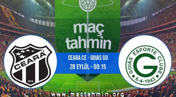 Ceara CE - Goias GO İddaa Analizi ve Tahmini 28 Eylül 2020