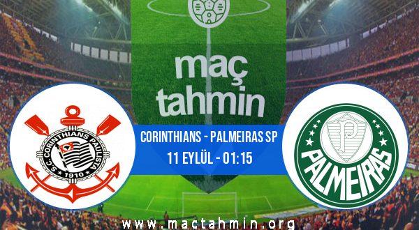 Corinthians - Palmeiras SP İddaa Analizi ve Tahmini 11 Eylül 2020