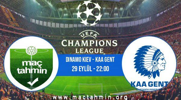 Dinamo Kiev - KAA Gent İddaa Analizi ve Tahmini 29 Eylül 2020