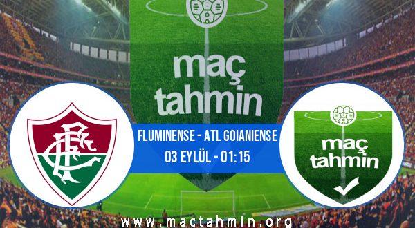 Fluminense - Atl Goianiense İddaa Analizi ve Tahmini 03 Eylül 2020