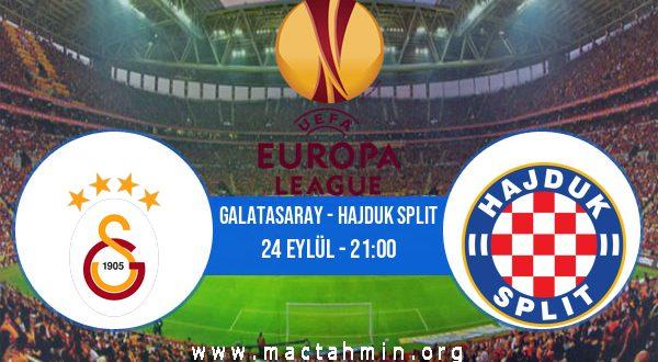Galatasaray - Hajduk Split İddaa Analizi ve Tahmini 24 Eylül 2020