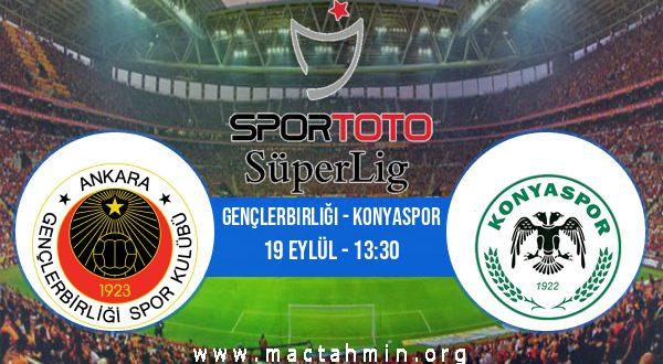 Gençlerbirliği - Konyaspor İddaa Analizi ve Tahmini 19 Eylül 2020