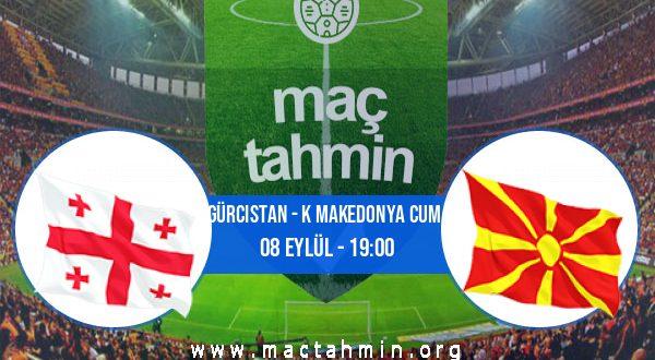 Gürcistan - K Makedonya Cum. İddaa Analizi ve Tahmini 08 Eylül 2020