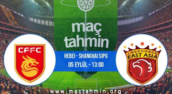 Hebei - Shanghai Sipg İddaa Analizi ve Tahmini 05 Eylül 2020