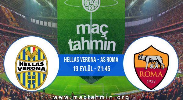 Hellas Verona - AS Roma İddaa Analizi ve Tahmini 19 Eylül 2020