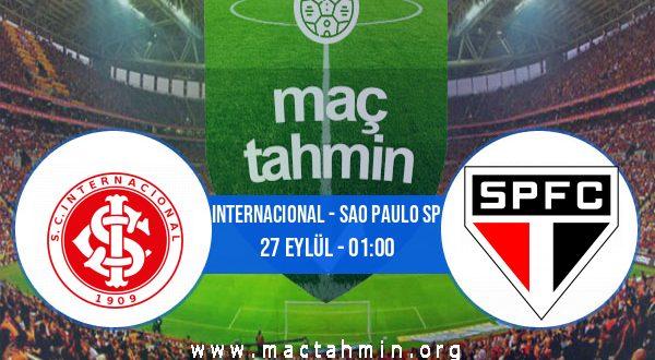 Internacional - Sao Paulo SP İddaa Analizi ve Tahmini 27 Eylül 2020