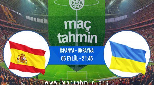 İspanya - Ukrayna İddaa Analizi ve Tahmini 06 Eylül 2020