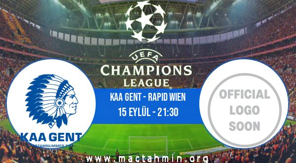 KAA Gent - Rapid Wien İddaa Analizi ve Tahmini 15 Eylül 2020