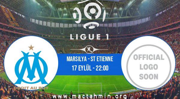 Marsilya - St Etienne İddaa Analizi ve Tahmini 17 Eylül 2020