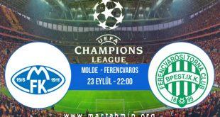 Molde  - Ferencvaros İddaa Analizi ve Tahmini 23 Eylül 2020