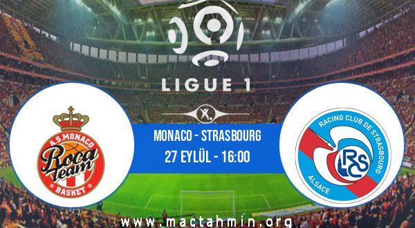 Monaco - Strasbourg İddaa Analizi ve Tahmini 27 Eylül 2020