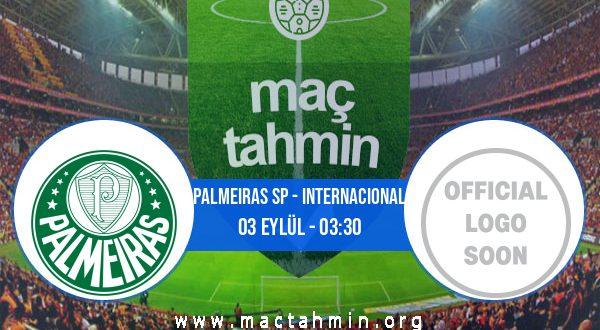Palmeiras SP - Internacional İddaa Analizi ve Tahmini 03 Eylül 2020
