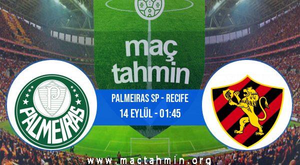 Palmeiras SP - Recife İddaa Analizi ve Tahmini 14 Eylül 2020