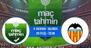 R. Sociedad - Valencia İddaa Analizi ve Tahmini 29 Eylül 2020