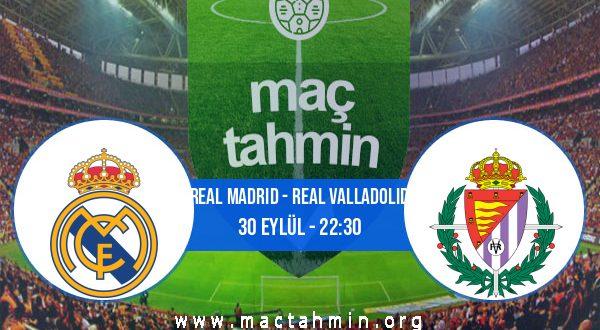 Real Madrid - Real Valladolid İddaa Analizi ve Tahmini 30 Eylül 2020