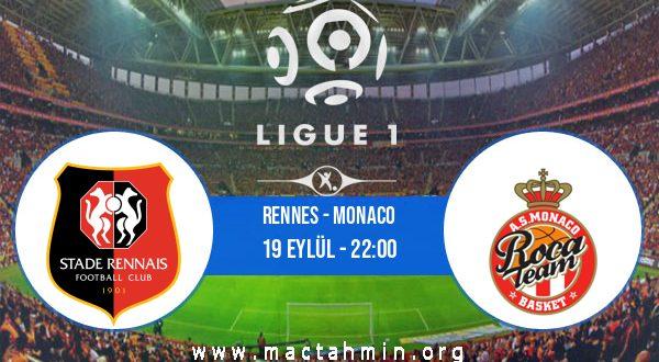 Rennes - Monaco İddaa Analizi ve Tahmini 19 Eylül 2020