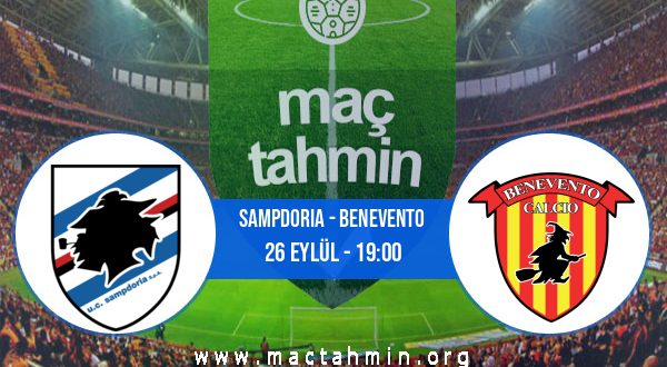 Sampdoria - Benevento İddaa Analizi ve Tahmini 26 Eylül 2020