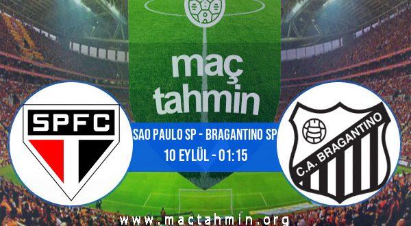 Sao Paulo SP - Bragantino SP İddaa Analizi ve Tahmini 10 Eylül 2020