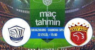 Shijiazhuang - Shanghai Sipg İddaa Analizi ve Tahmini 22 Eylül 2020