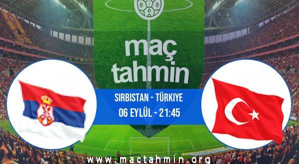 Sırbistan - Türkiye İddaa Analizi ve Tahmini 06 Eylül 2020
