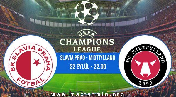 Slavia Prag - Midtjylland İddaa Analizi ve Tahmini 22 Eylül 2020