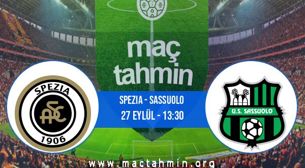 Spezia - Sassuolo İddaa Analizi ve Tahmini 27 Eylül 2020