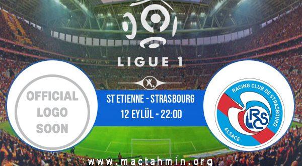 St Etienne - Strasbourg İddaa Analizi ve Tahmini 12 Eylül 2020